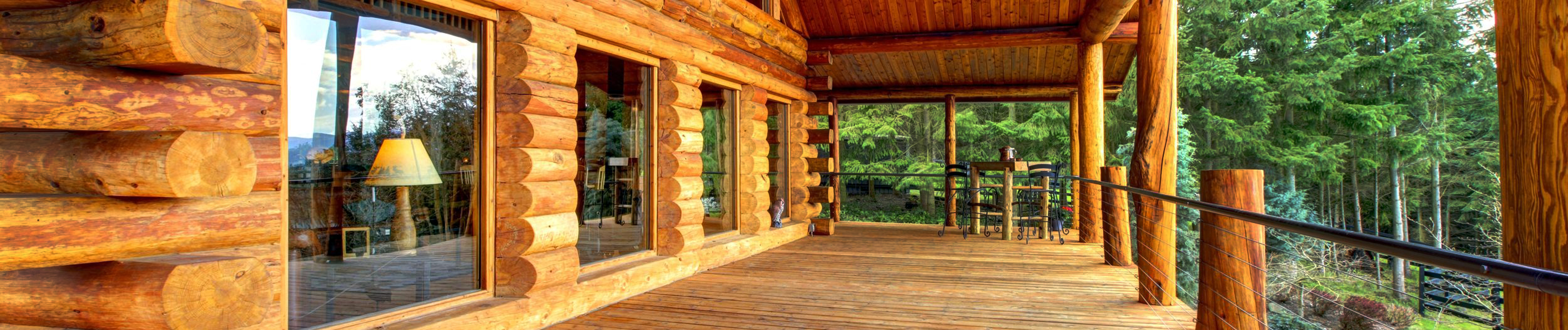 Affordable custom log homes