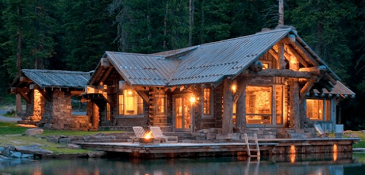 Remarkable Rustic Log Cabin Homes Simple And Beautiful Pine Harbor Download Free Architecture Designs Scobabritishbridgeorg