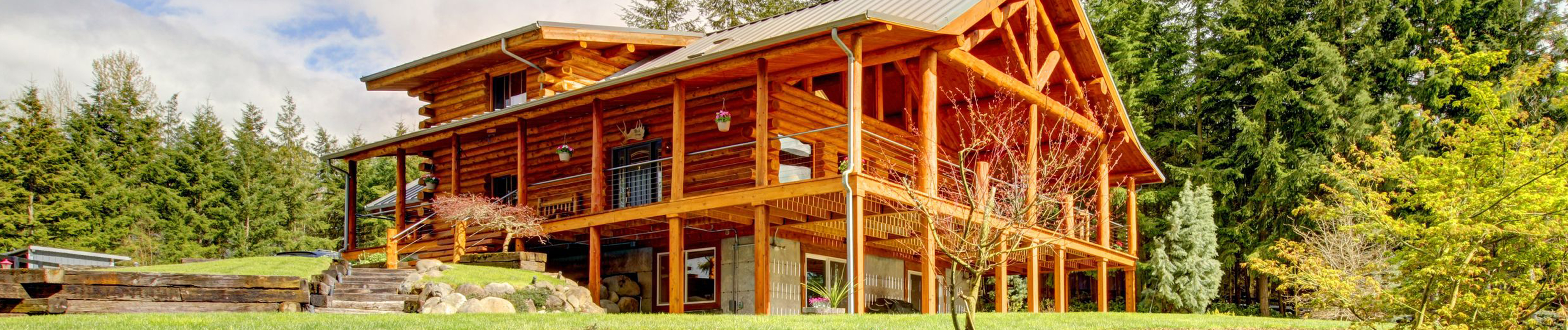 Log Timber Frame Homes - Pine Harbor Log Homes